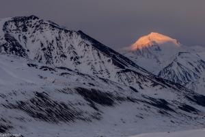 Mount Silvertip, Delta Mountains, eastern Alaska Range.