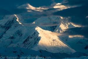 Denali, the Alaska Range's most famous mountain.