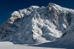 The North face of Mount Hunter, One of the most beautiful mountains faces in the world.