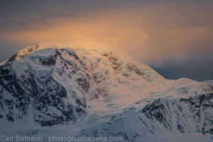 Strange light on Mount Foraker, Where is it coming from?