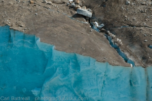 Brown and Blue, Ruth Glacier.