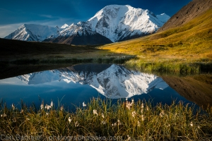 Mount Moffit Reflection, Eastern Alaska Range.