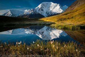 Mount Moffit Reflection, Eastern Alaska Range.