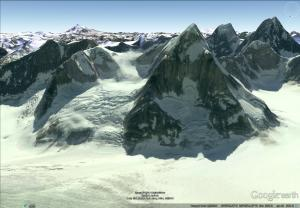 Google gives a pretty wide angle images but its still very useful for indentifing Mountains.