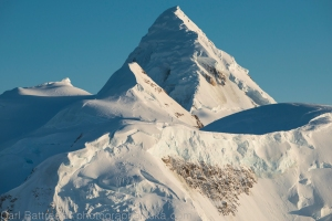 A tighter shot of Mount Russell and it's glorious north ridge, Denali National Park and Preserve