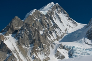 The beautiful west ridge of Mount Balchen, Gillam Glacier, Hayes Mountains, Eastern Alaska Range