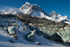 Amazing ice and Mount Hess and Deborah.