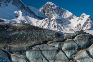 Cool ice and Mount Deborah.