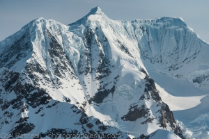West, south-west face of the Peak 12,360, Hayes Mountains, Eastern Alaska Range