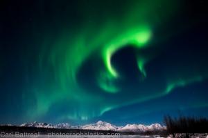 Wild Aurora over Denali.