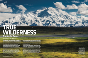 Seven page portfolio in the June 2015 issue of Alaska magazine.