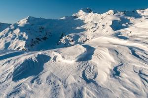 Strastrugi Formations and peak 8110